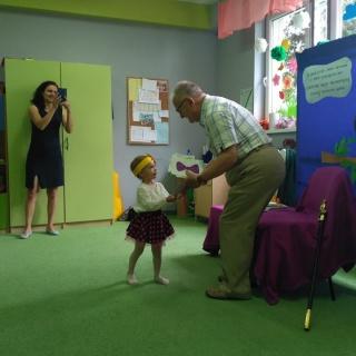 Spotkanie z panem Poetą w Przedszkolu ABC