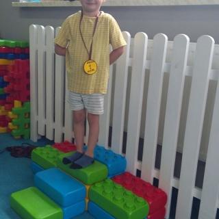 Wręczenie złotych medali naszym przedszkolakom