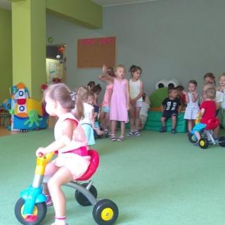Zajecia w ramach Wakacyjnych Warsztatów w naszym Przedszkolu